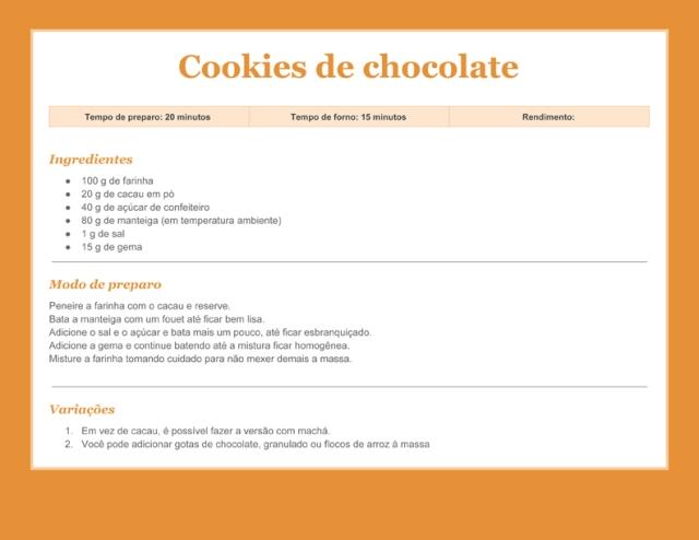 Receitacookiesdechocolate