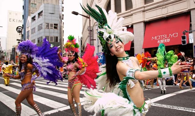 The 33rd Asakusa Samba Carnival in Tokyo